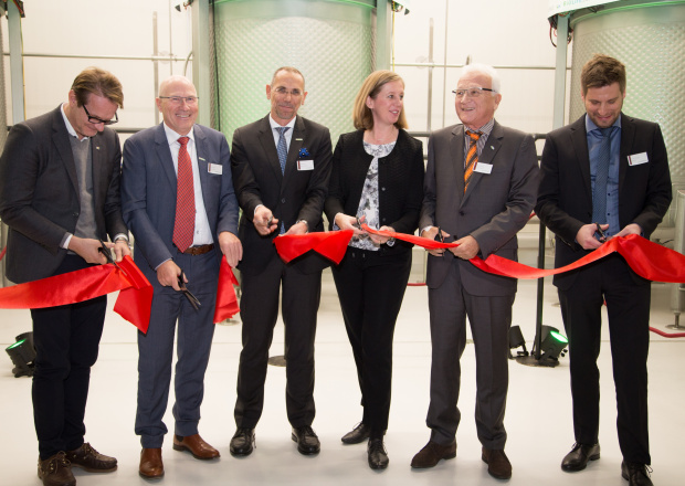 2018: Start of construction of the first industrial BDI-BioLife ScienceDI algae production plant at Ökopark Hartberg (Austria)   Restructuring of the BDI Group with BDI Holding GmbH as the holding company, under the management of Helmut Gössler, and the subsidiaries BDI-BioEnergy International GmbH, BDI-Betriebs GmbH and BDI-BioLifeScience GmbH  Ceremonial opening of the BDI-BioLife ScienceI algae production plant at Ökopark Hartberg after less than 10 months of construction